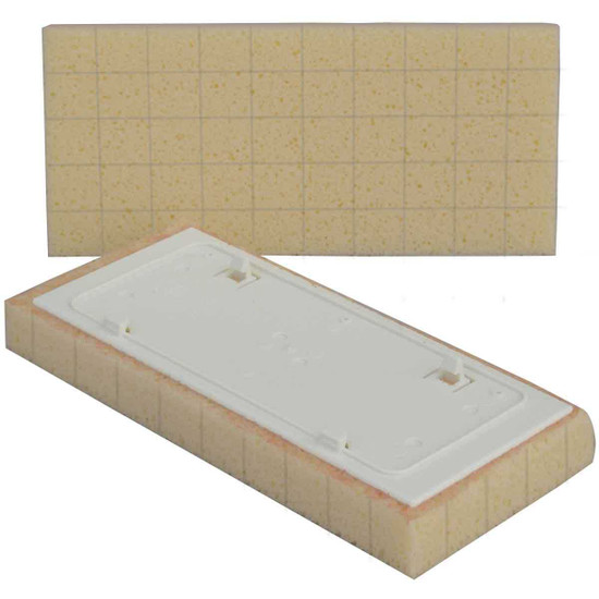 Raimondi Yellow Slitted Grout Sponge