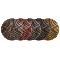 Alpha 4 inch Ceramica EX Wet Resin Polishing Pads