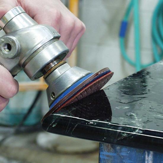 Polishing Stone Countertops with Alpha Ceramica EX