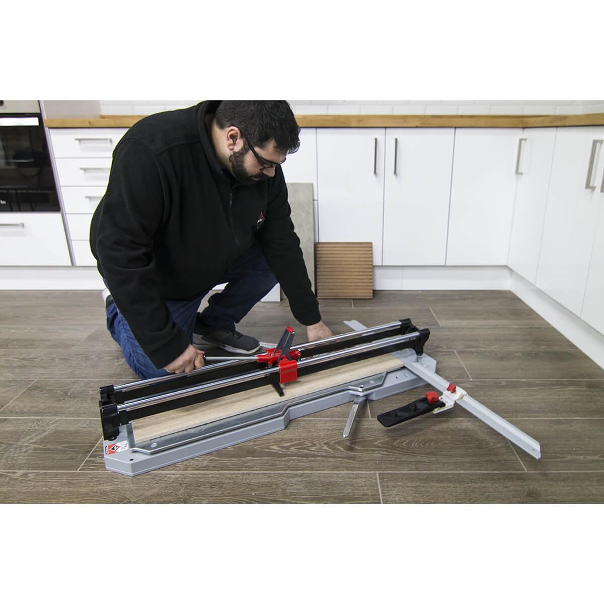 cutting tile with rubi tx-n cutter