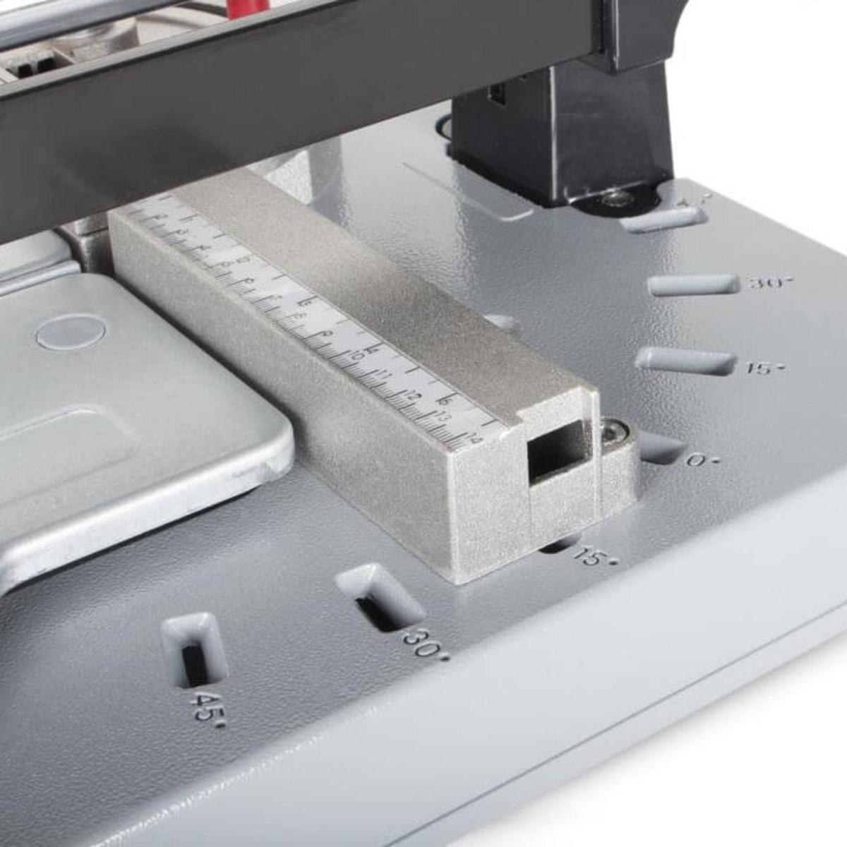 Rubi TX-N tile cutting action