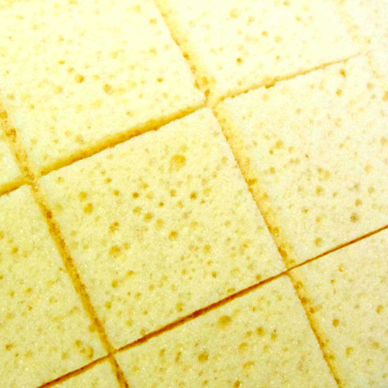 Grout Caddy slitted Sponges
