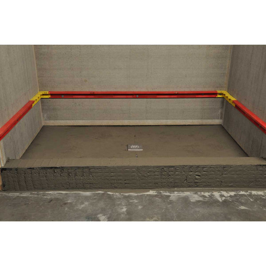 StringA-Level Shower Installation Layout