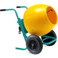Imer Wheelman Electric Concrete Mixer