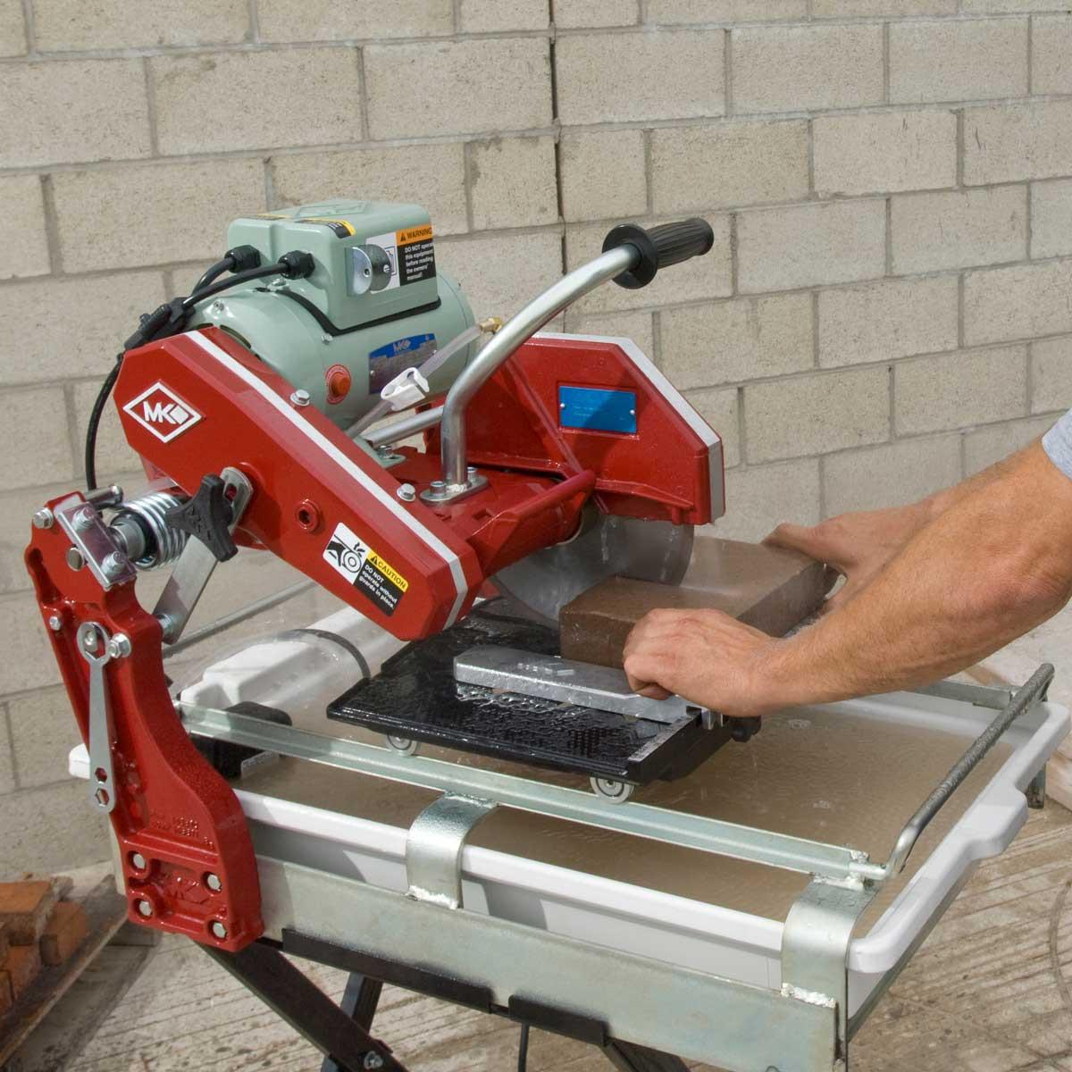 cutting mk-1080 10in brick saw