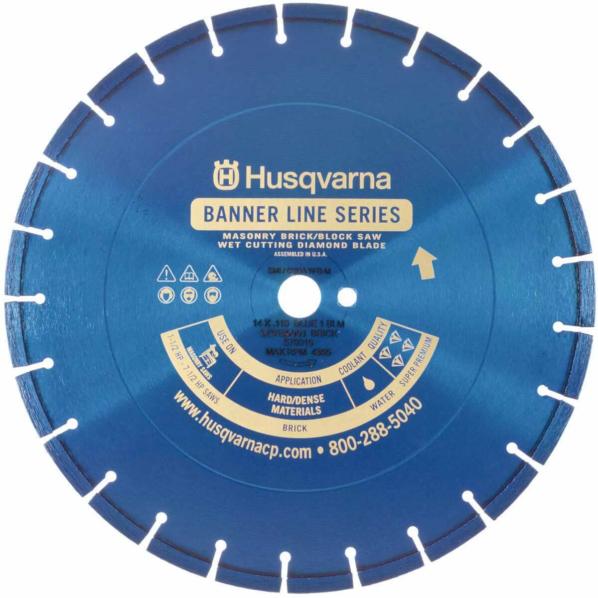 Husqvarna Banner Line Blue 200B Series Blade