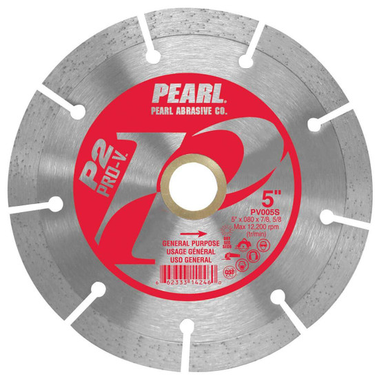 Pearl Pro-V 5 inch Segmented Masonry Blade
