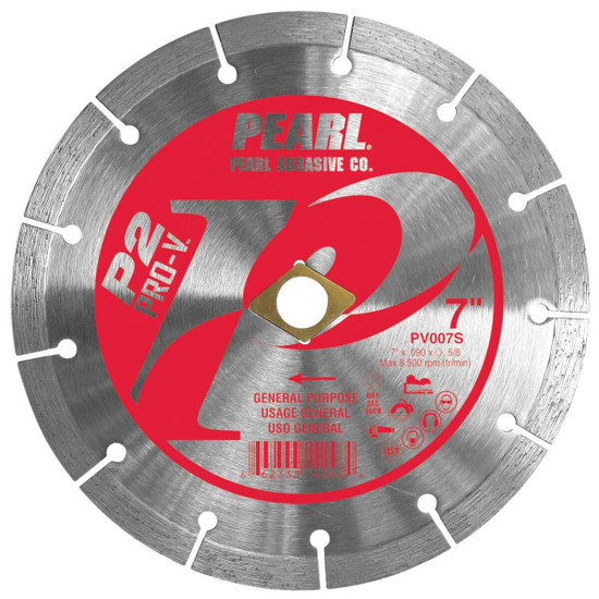 Pearl Pro-V 7 inch Segmented Masonry Blade