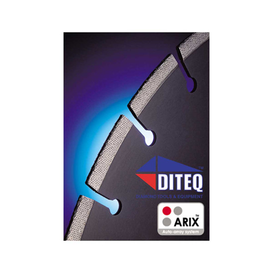 Diteq ARIX Diamond Blade Technology