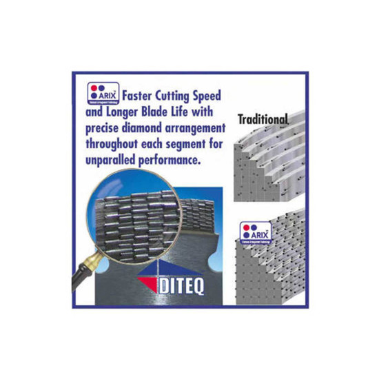 ARIZ Fast Cutting Diamond Blade Segment