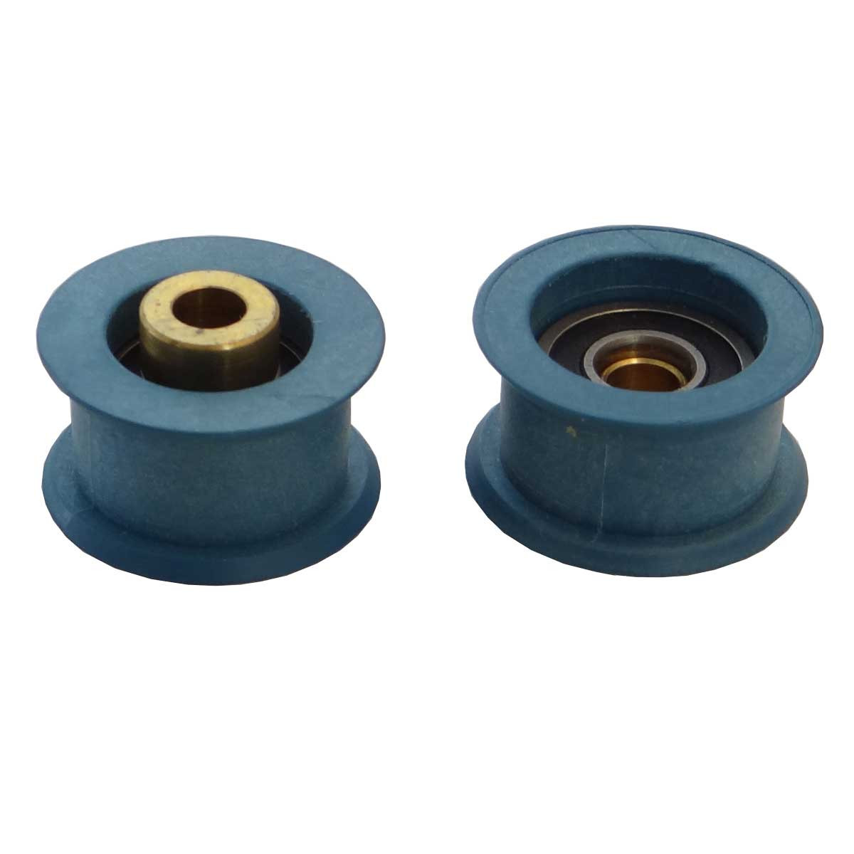 Blue Carriage Tray Wheels Gemini Revolution XT Saws