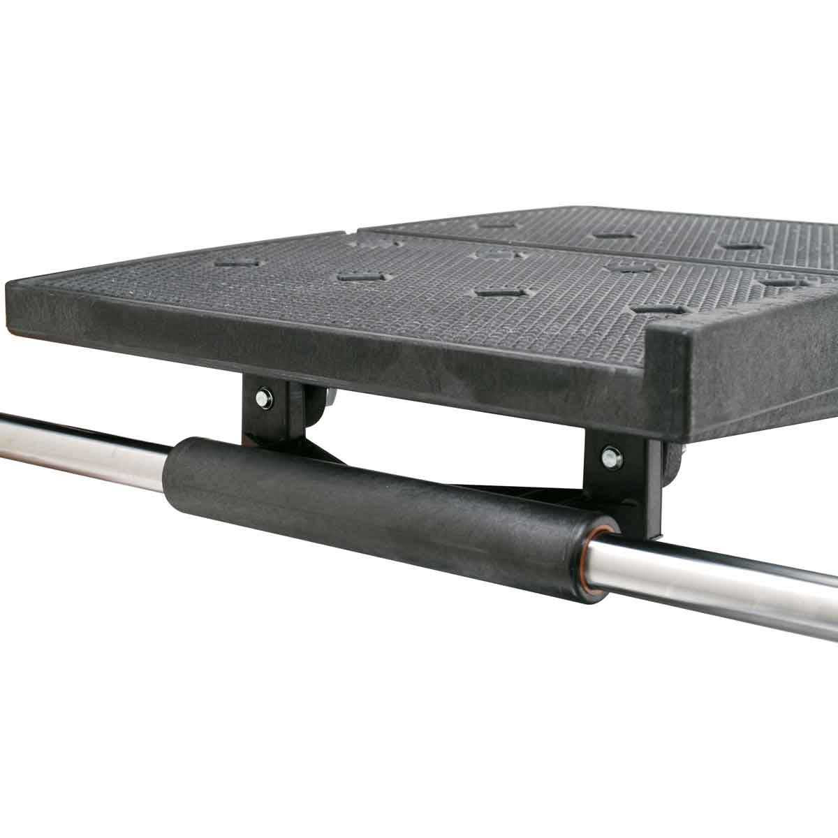 mk-370 tile saw linear bearing assembly on carriage tray