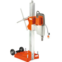 Husqvarna DS 800 Core Drill Rig with Anchor Base