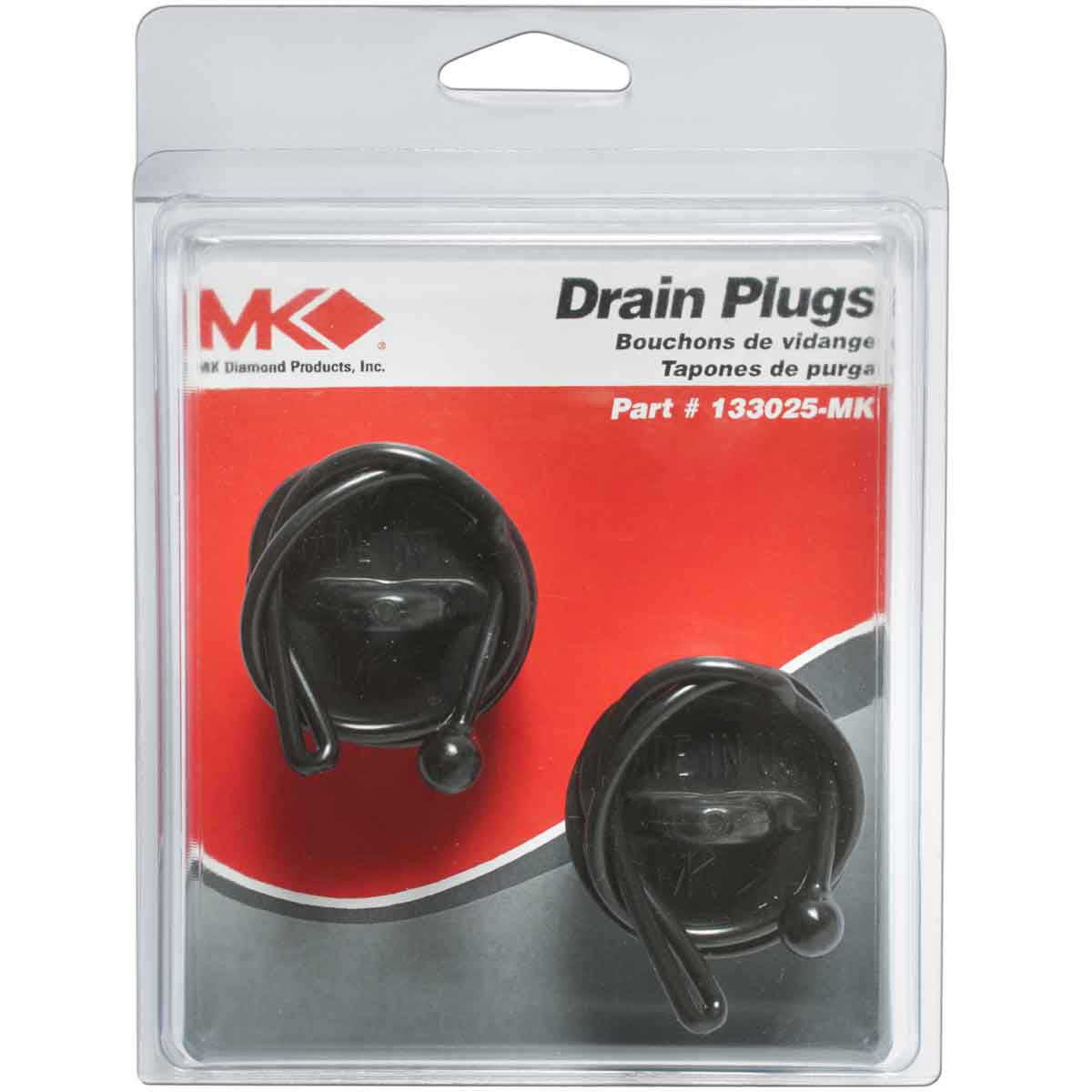 MK Drain Plugs For Tile Saw Water Trays