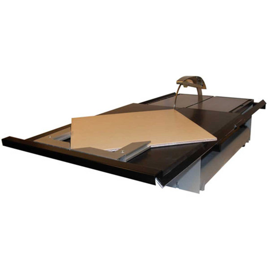 45 Degree Trowel : Gemini xt slide tray with degree stop contractors direct