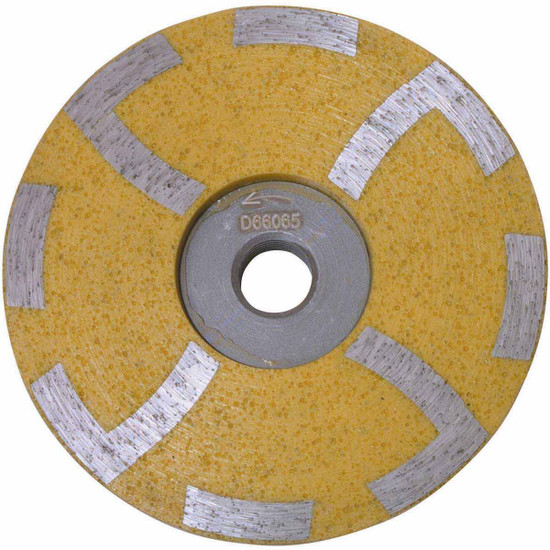 Diteq 4 inch Resin Filled Cup Wheel - Medium Grit