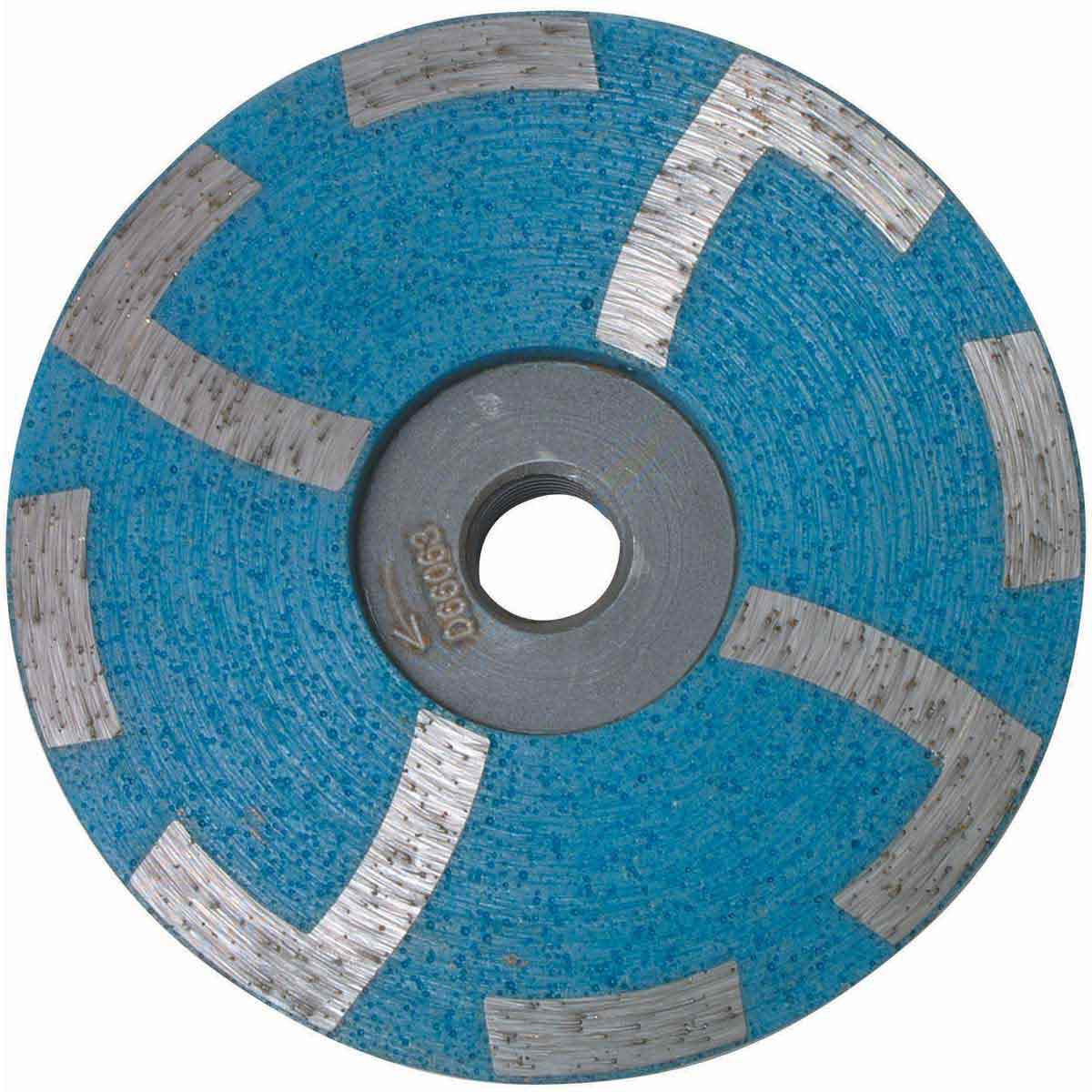 D66063 Coarse Blue Diteq 4 inch Resin Filled Cup Wheels
