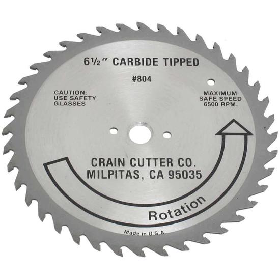 Crain 804 6-1/2 in. Carbide Undercut Saw Blade, door jamb saw