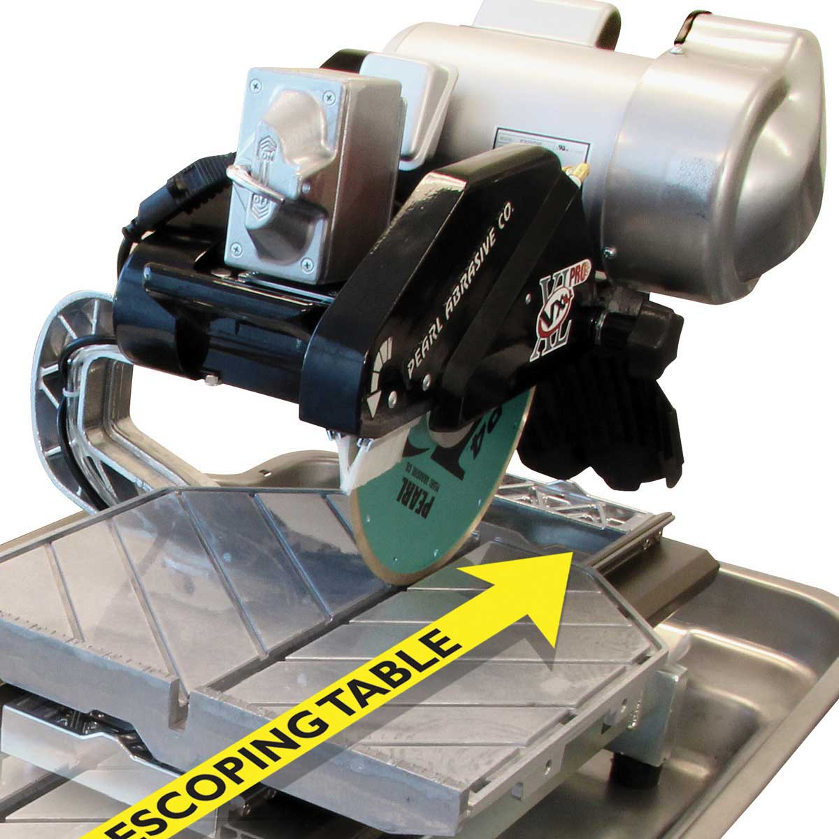 professional tile saw. pearl abrasive professional tile saw direct drive motor