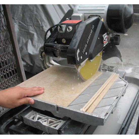 Pearl VX10.2XL Pro Tile Saw Cut