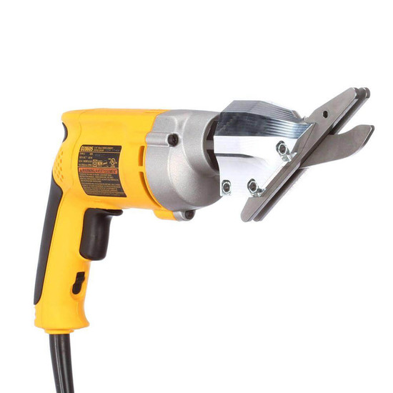 Cut through fiber cement siding and cement backer board quickly and cleanly with the specialized DeWalt D28605 Variable Speed Cement Shear
