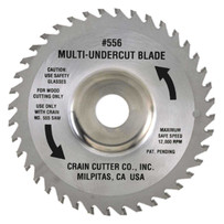 "Crain 556 5-1/2"" Carbide Tipped Steel Blade"