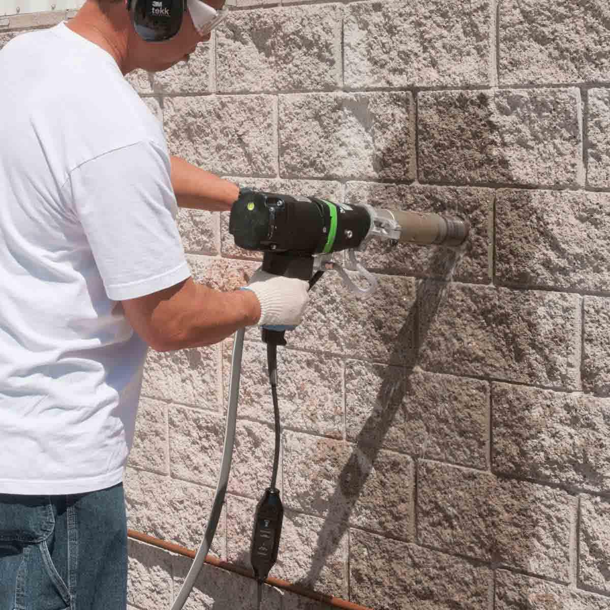 Eibenstock wet concrete core drill