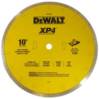 dewalt 10in xp4 wet porcelain diamond blade