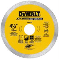 dewalt 4 1/2in dry porcelain tile blade
