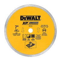 dewalt 7in porcelain diamond blade