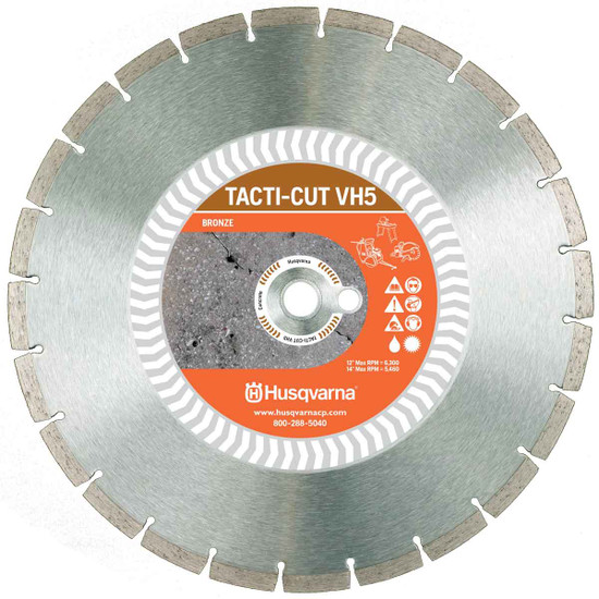 Husqvarna VH5 High Speed Diamond Blade