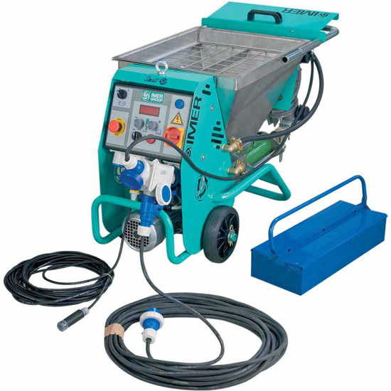 Imer Small 50 Pumping and Spray Machine