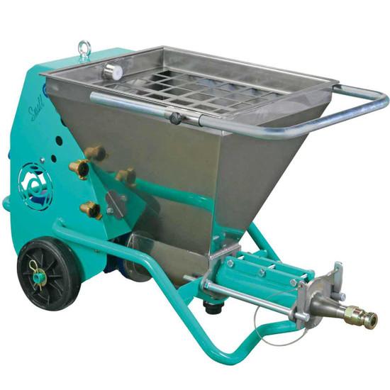 Imer Small 50 Spraying Machine 12.5 Hopper Capacity
