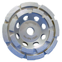 MK Diamond MK-304 Double Row Diamond Cup Wheel
