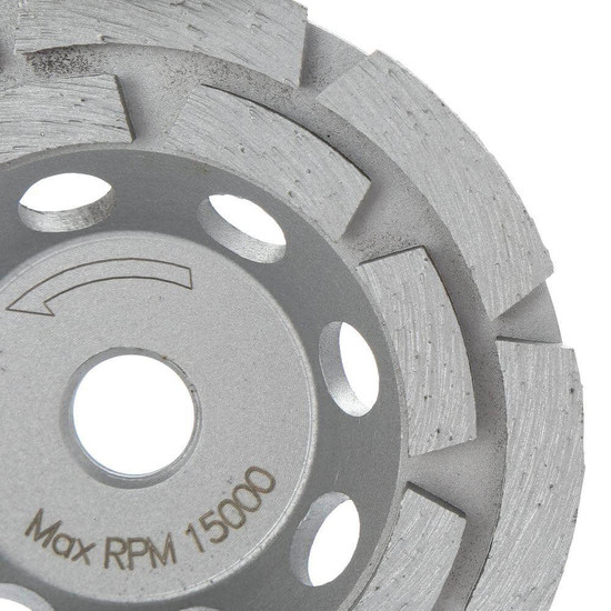 MK Diamond Double Row Cup Wheels