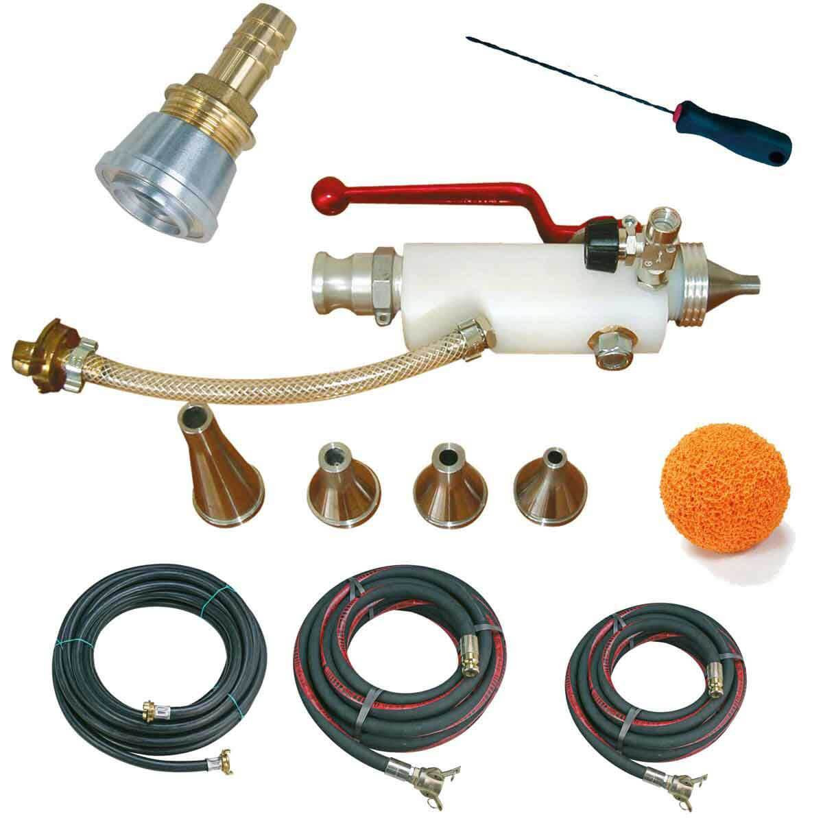1107010 Imer Light Materials Spray Gun Kit