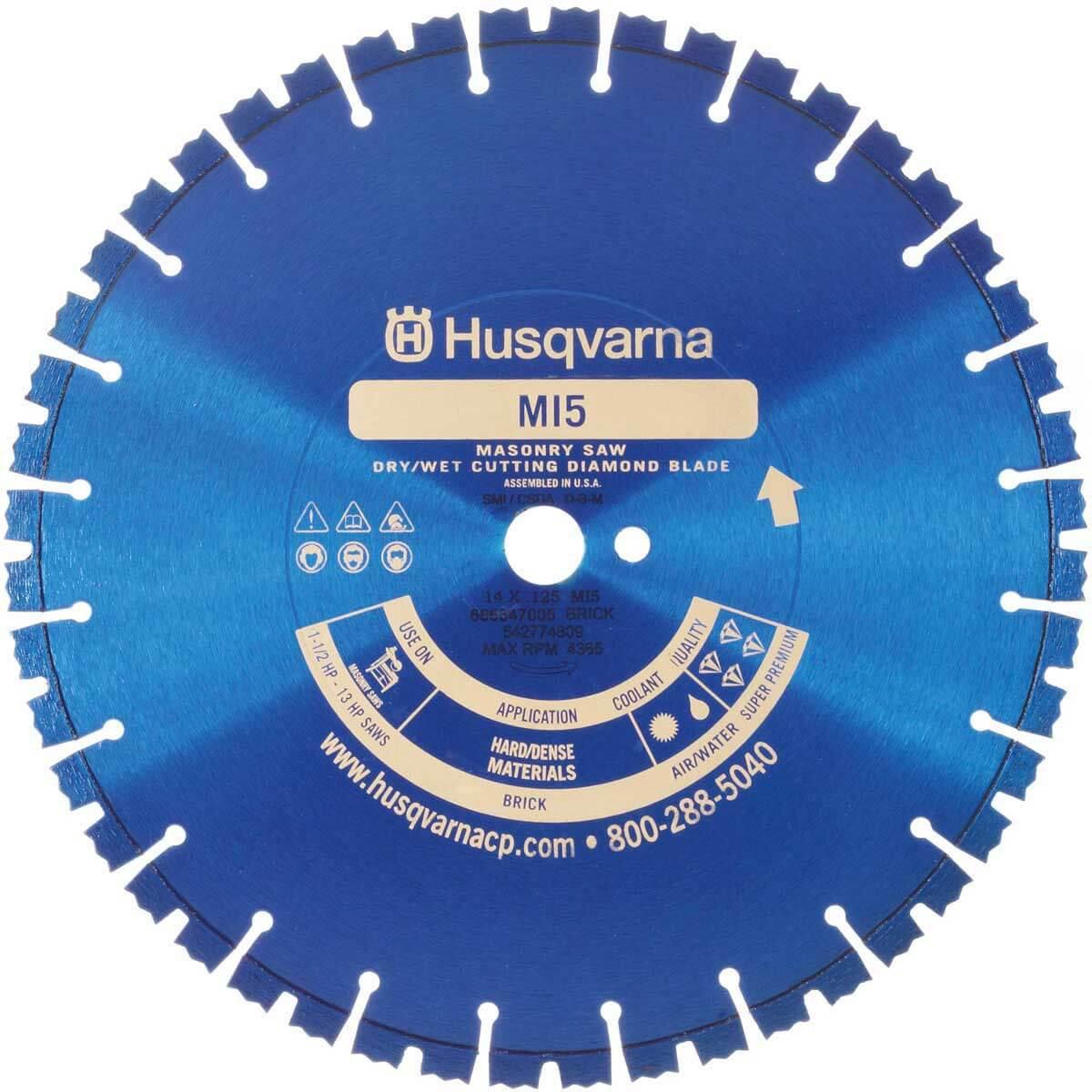 Husqvarna MI5 Dry Masonry Diamond Blade