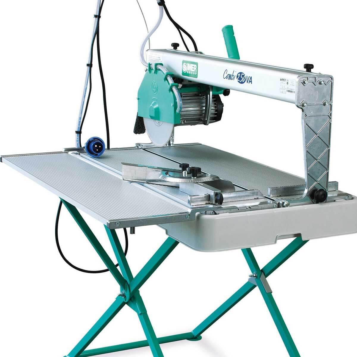 Imer Combi 250VA saw with scissor stand