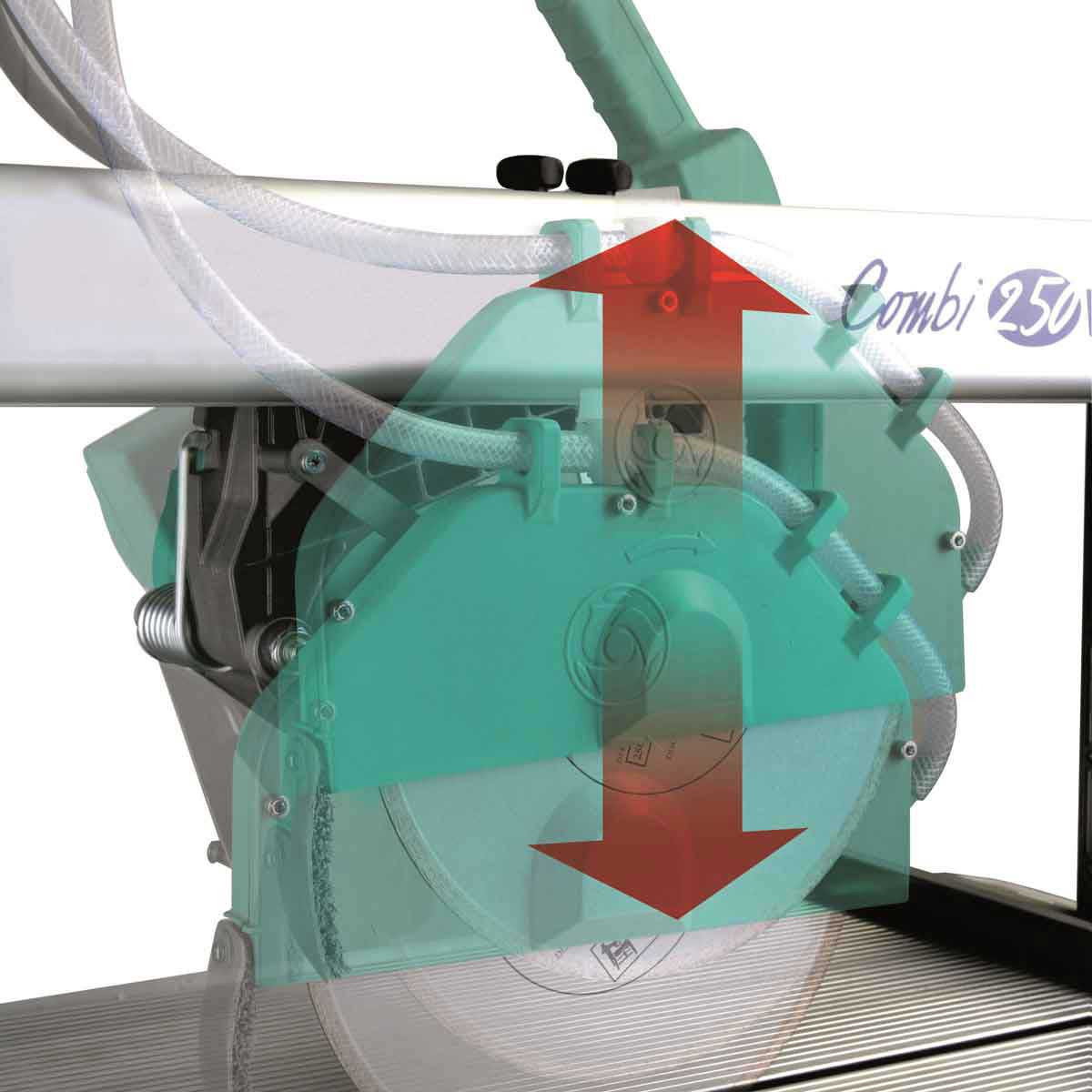 Imer Combi 250VA plunge cut capability