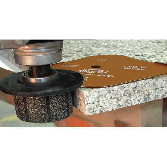 Alpha Radius Corner Ruler for Granite Countertop
