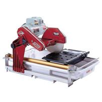 151991 MK-101 Wet Tile Saw powerful, high torque motor and a one-piece unitized steel frame