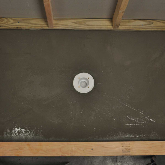 Pre-Pitched Shower Pan