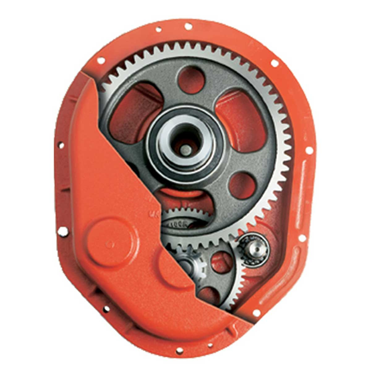 Crown Poly Drum Mixer gearbox