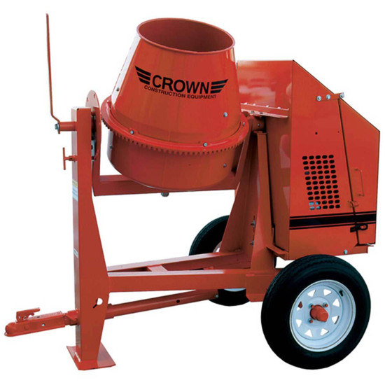 Crown concrete mixer