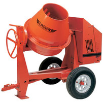 Crown C9 Towable Concrete Mixer