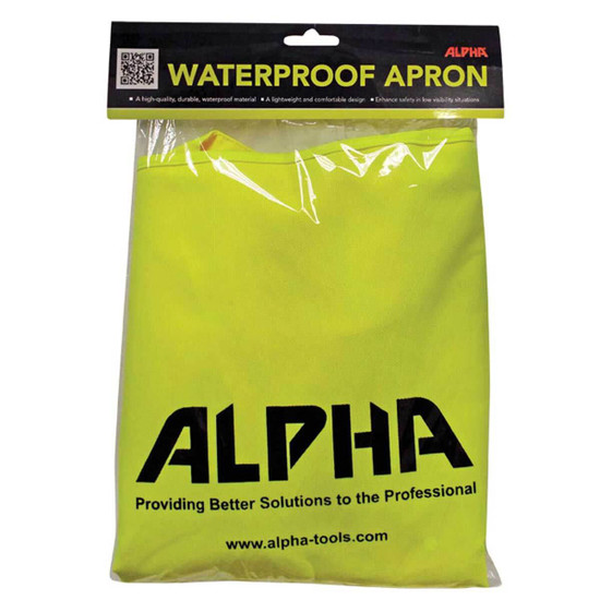 APRON1000 Alpha professional tools Fabricators Apron stone fabricator slab work edging granite wet polisher