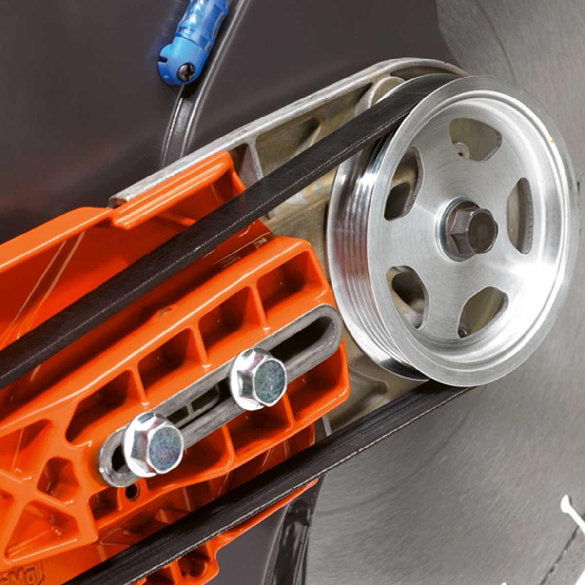 Husqvarna K970 saw belt drive