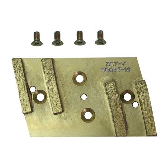 Pearl Diamond Pad and Screws HEX4PAD-MFD