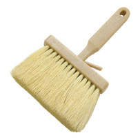 Marshalltown Utility Bucket Brush with Tampico Bristles Medium to stiff natural Tampico bristles provides durability, high resistance to heat, alkali, solvents, acid and chemicals