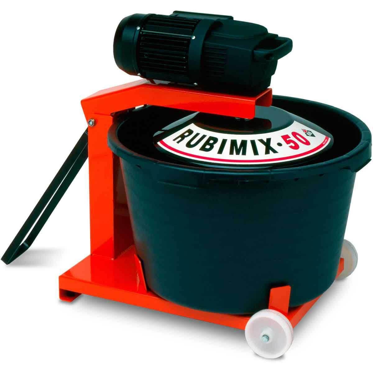 Rubimix 50 N Mortar Mixer Portable Contractors Direct